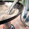 جمع کردن خاکستر با جاروبرقی