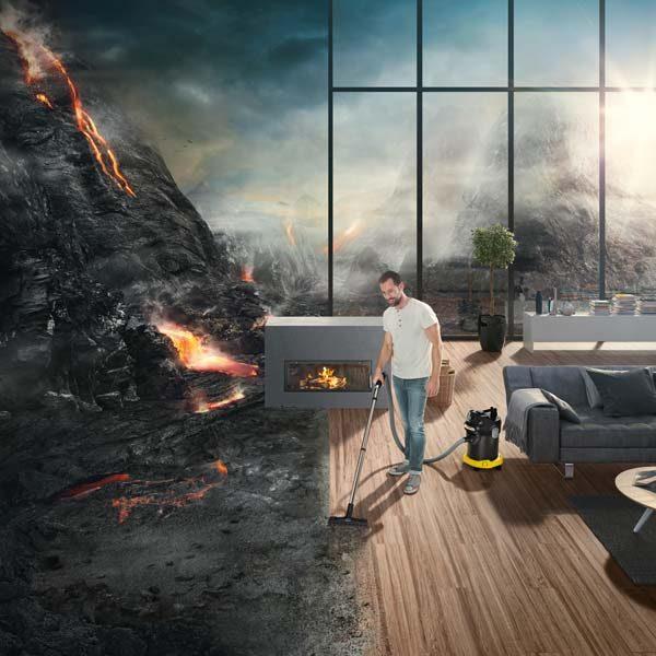 جاروبرقی خانگی و حرفه ای خاک مدل AD 4 Premium کارچر جاروبرقی نیمه صنعتی