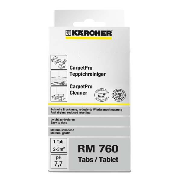 ماده شوینده خانگی قرص شستشوی فرش و موکت مدل RM 760 کارچر