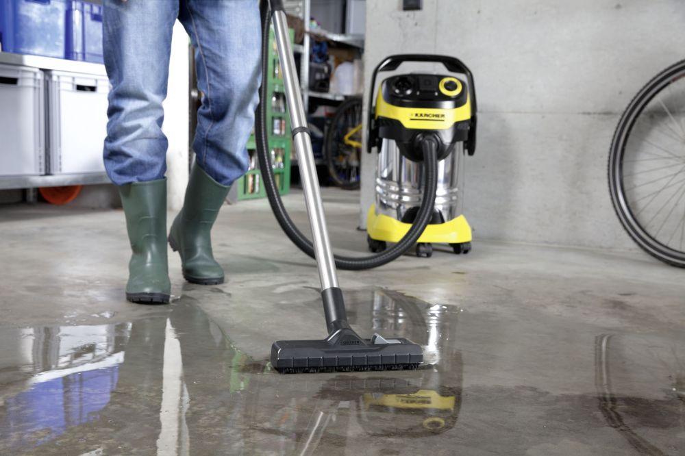 جاروبرقی خانگی و نیمه صنعتی آب و خاک مدل WD6 P Premium کارچر جاروبرقی نیمه صنعتی