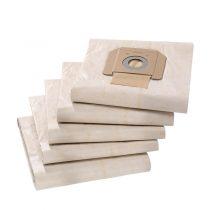 پاکت پشمی جاروبرقی های کارچر سری NT بسته 5 عددی کیسه جاروبرقی