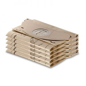 پاکت جاروبرقی و فرش شوی کارچر مدل SE 5/100 و SE 3001 بسته 5 عددی کیسه جاروبرقی