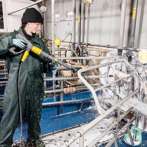 دستگیره کمکی لنس کارواش های صنعتی کارچر