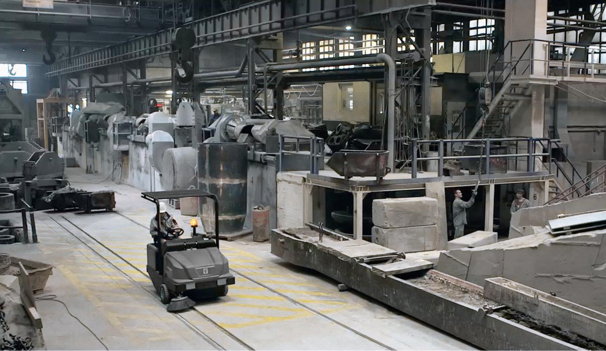 سوییپر صنعتی مدل KM 130/300 R D کارچر