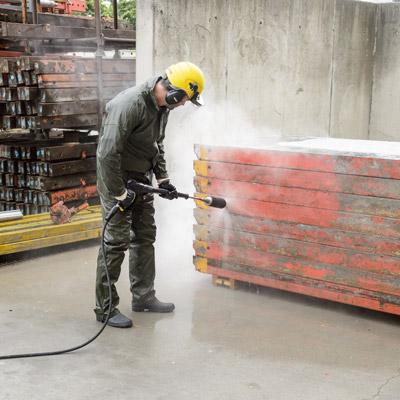 کارواش صنعتی آب سرد مدل HD 13/35-4 Cage کارچر کارواش آب سرد, واترجت آب سرد