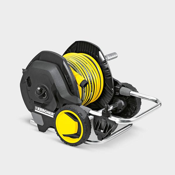 شلنگ جمع کن مدل HT4.520 به همراه شلنگ کارچر تجهیزات آب پاش دستی, شلنگ و شلنگ جمع کن