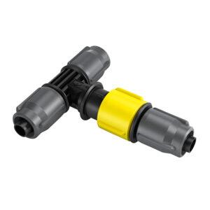 کانکتور T با قابلیت تنظیم جریان آب اتصالات و کانکتور های آبیاری, اسپرینکلر ها و تجهیزات آبیاری, تجهیزات آب پاش دستی