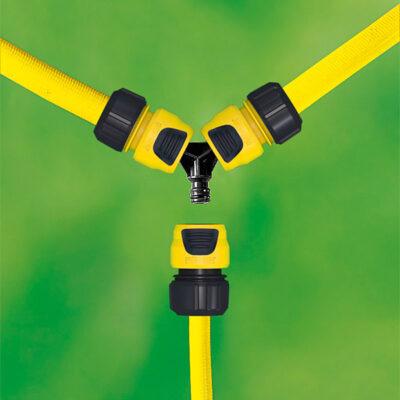 رابط سه راهی شلنگ آبیاری مدل ۰۶۵ کارچر اتصالات و کانکتور های آبیاری, تجهیزات آب پاش دستی