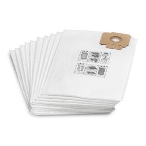 پاکت پشمی جاروبرقی کارچر سری CV بسته 10 عددی کیسه جاروبرقی