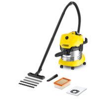 جاروبرقی خانگی آب و خاک مدل WD4 Premium کارچر جاروبرقی نیمه صنعتی