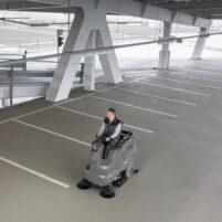 نظافت پارکینگ