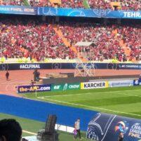 نظافت استادیوم