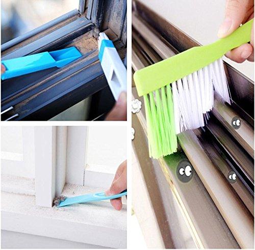 تمیز کردن قاب پنجره ها