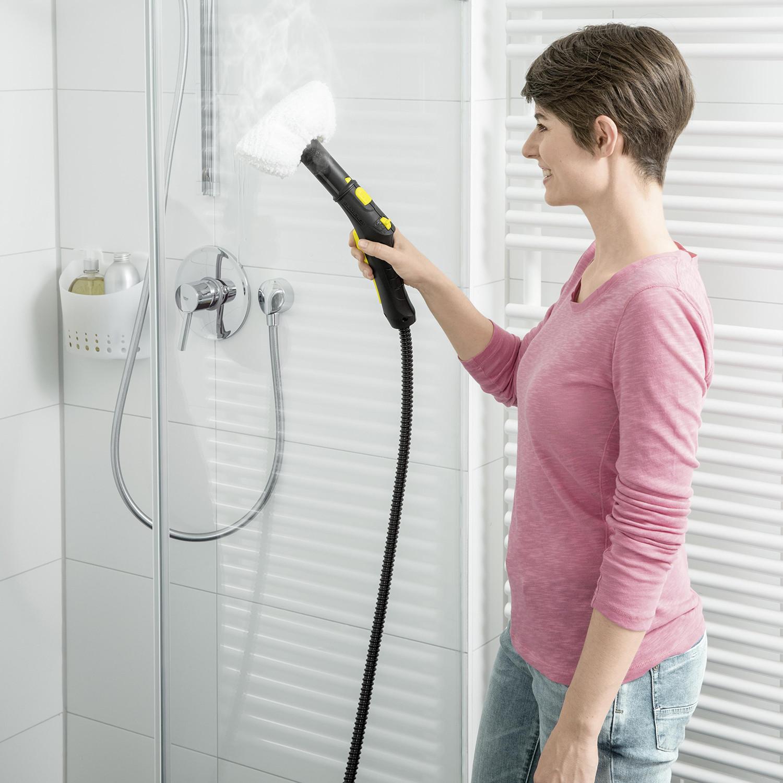 نظافت حمام با بخار