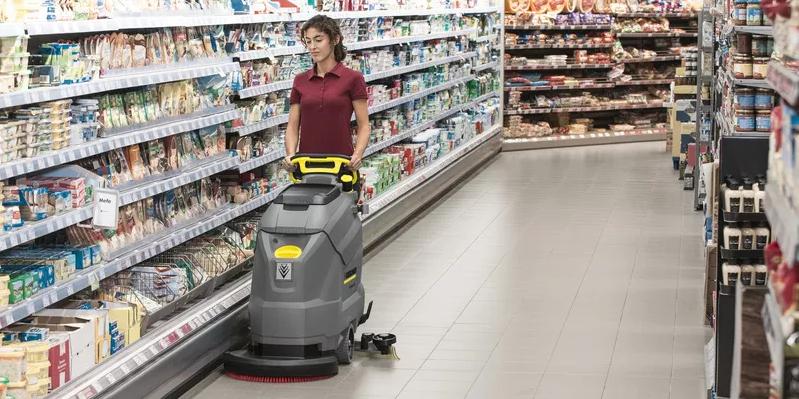 نظافت سوپرمارکت