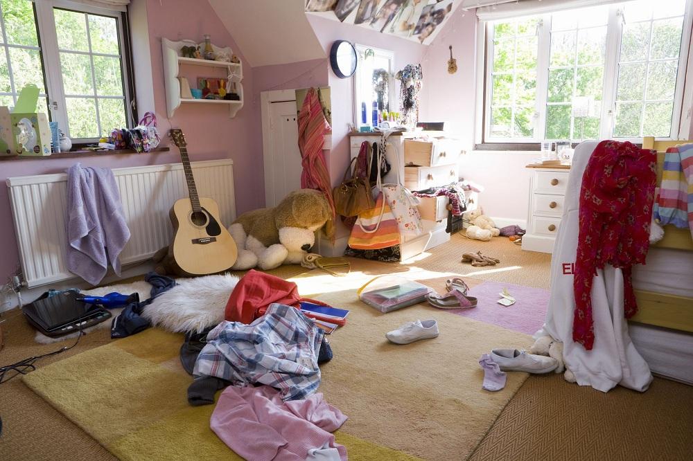 تمیز کردن اتاق ها